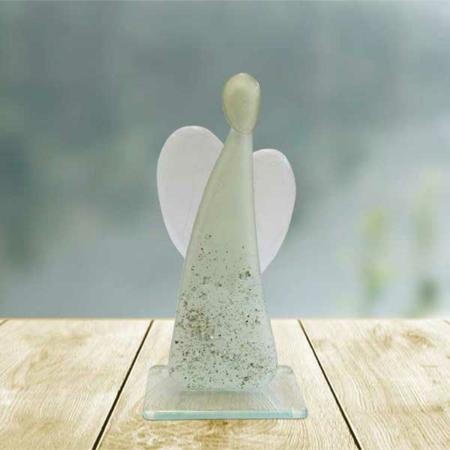 Herz-Engel Gedenkskulptur von Bettina Eberle